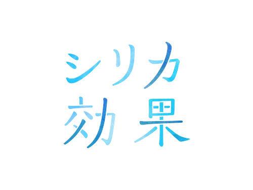 シリカ効果 ロゴデザイン